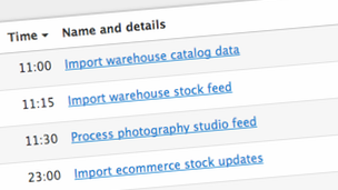 Import data files and feeds